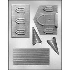 3D Church Building Hard Candy Candy Mold from CK #7301 - NEW