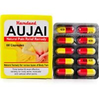 2 x Hamdard Aujai Capsules (60caps), for issue of joint pain, stiffness