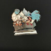WDW 3D Attractions April Expedition Everest Yeti Fab 3 Diorama Disney Pin 53574
