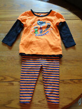 GIRL'S HALLOWEEN OUTFIT NO. 1 PRINCESS SIZE 12M SHIRT AND PANTS