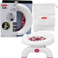 OXO Tot 2in1 Go Potty Baby Toddler Travel Potty Seat w Disposable Bags Pink NEW