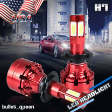 4-Sided H7 1200W 180000LM LED Headlight Kit High Low Beam Bulbs HID White 6000K