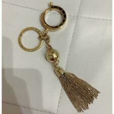 Louis Vuitton Key Ring Charm Fringe Gold Tone Metal M65997 Very Good Condition