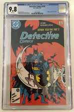 Detective Comics 576 Cgc 9.8 White Pages Dc Batman 1987 McFarlane Cover