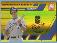 George Brett 2004 Donruss Elite Career Best #cb-16 Gold #187/390 Royals