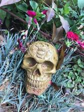 Gothic  Concrete Garden Skull Celtic  Ornament Halloween Gift