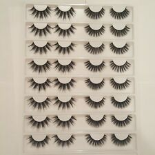 Fake Lashes 16 Pairs In Storage Case Lash Look Book 2 Styles false lashes mink