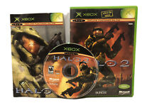 RARE! HALO 2 XBOX MEXICAN EDITION ntsc ESPAÑOL LATINO SPANISH MEXICO
