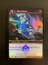 World of Warcraft WoW TCG Promo - Foil Wind Shear
