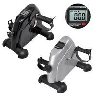 Mini Pedal Exercise Machine Cycle Fitness Digital Exerciser Bike Stationary Home
