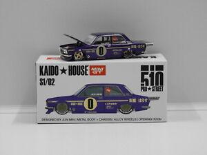 1:64 Datsun 510 Pro Street (OG Purple) True Scale Miniatures KHMG002