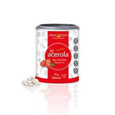 AMAZONAS Naturprodukte | BIO Acerola | Vitamin C | 120 Lutschtabletten