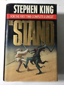 The Stand Complete Uncut by Stephen King 1990 1st Trade Edition Hardcover Good