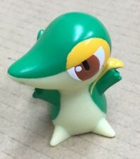 2010 Pokemon B&W Finger Puppet Snivy Figure Catch Them All Nintendo Bandai