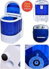 Mini Portable RV Dorm Compact 7 lbs Washing Machine Washer Spin Dryer Laundry