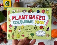 Vegan Colouring Book - Plant Based Colouring Book - Food Colouring Book - A5