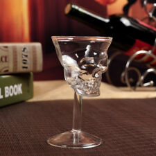 1Pc New Crystal Skull Head Shot Whiskey Wine Glass Cup Glassware Decanter