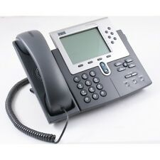 SIP Cisco 7960 Series CP-7960G VoIP PoE Business Phone w/ Handset SIP Firmware