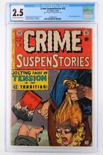 Crime Suspenstories #22 - CGC 2.5 GD+ EC 1954 - Classic Decapitation cover!