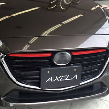 For Mazda 3 Axela BM 2017 2018 Front Radiator Mesh Grille Grill Cover Trim