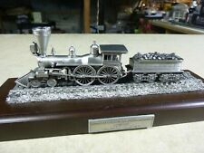 1/90 Danbury Mint PEWTER ENGINE-THE GENERAL 1 OF12 GREAT LOCOMOTIVES