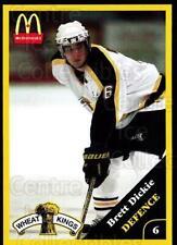 2000-01 Brandon Wheat Kings #4 Brett Dickie