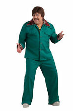 Mens Leisure Suit Costume 70's Lounge Lizard Cosplay Adult Plus Size