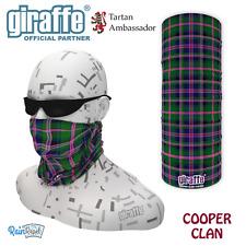 Cooper Clan Scottish Tartan Multifunctional Headwear Bandana tube neckwarmer