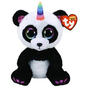 Beanie Boos Regular Plush Paris Panda With Horn
