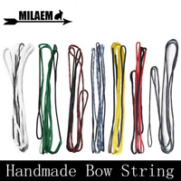 "Archery AMO 48-70"" Dacron Handmade Bow Strings Traditional Recurve Longbow Shoot"