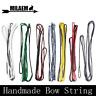 "Archery AMO 48-70"" Dacron Handmade Bow Strings Traditional Recurve Longbow Shoot"