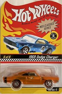 HOT WHEELS RLC NEO CLASSICS 1969 DODGE CHARGER  #1410/11000