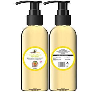 Citrus Honey Luxury Natural Organic Hand Wash Soap Working Hands Pump Dispenser