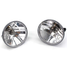For 07-14 Chevy Avalanche Suburban GMC Yukon Clear Fog Lights Driving Lamps PAIR