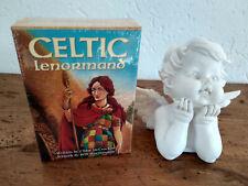 Cartes oracle Celtic Lenormand neuf sous emballage, en Anglais + livret
