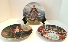 Vintage Collectable Plates, Sound of Music & The King and I, Knowles, 3 plates