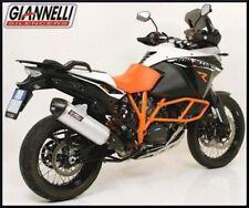 Giannelli Terminale HOM Maxi Oval alluminio cc KTM 1190 Adventure R 2014 14