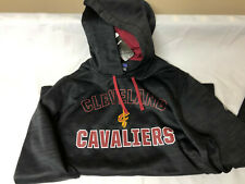 Majestic NBA Mens Cleveland Cavaliers Hoodie LARGE