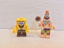 Lego 3818 Spongebob Squarepants Gary Squidward Lei Minifigs Lot #1 BIKINI BOTTOM