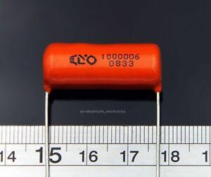 2 Pcs - Genuine Cornell Dubilier ORANGE DROP® Capacitors - 27 nF - 800 VDC