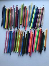 Lot Of 81 Used Crayola Colored Pencils - Crafts Coloring Kids