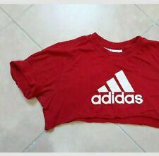 peccato Aderire tartaruga  T-shirt, maglie e camicie da donna rossi adidas   Acquisti Online su eBay