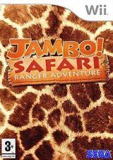 JAMBO SAFARI  : RANGER ADVENTURE              -----   pour WII