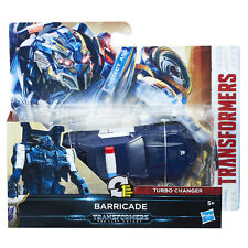 Transformers The Last Knight Cyberfire 1-Step Turbo Changer BARRICADE (C1313)