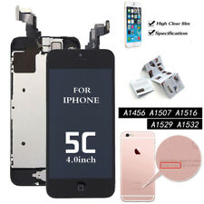 For iPhone 6 6S 7 8 Plus 5C 5S 5G SE Touch Screen LCD Digitizer Display+Button