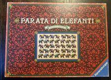 """""""PARATA DI ELEFANTI"""" - gioco da tavolo Ravensburger- 1988 PERFETTO! RARO!"""