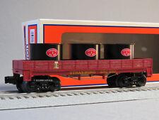 LIONEL STRASBURG RR GONDOLA CAR W VATS O GAUGE train freight pa src 6-84333 NEW