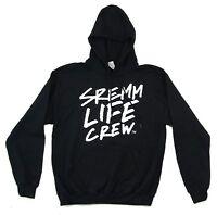 Rae Sremmurd Sremm Life Crew Black Pull Over Sweatshirt Hoodie New Official