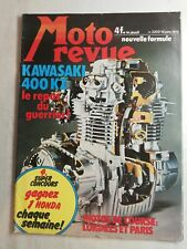 N63 Moto Revue  N°2203 16 janv 1975 Kawasaki 400KZ motos de course
