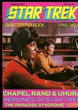 """STAR TREK GIANT POSTER BOOK VOYAGE 12(6.0)(FN)OPENS TO POSTER SIZE 33""""X23"""""""